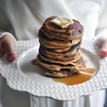 Almond Flour and Bourbon Vanilla Pancakes