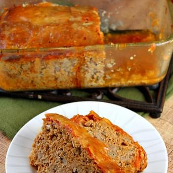 Slow Cooker Chicken Parmigiana Meatloaf