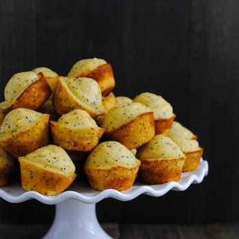Lemon-Poppyseed Cornbread Mini Muffins