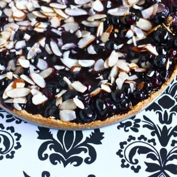 Vegan Blueberry Almond Tart