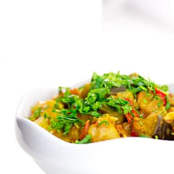 Curried Ratatouille