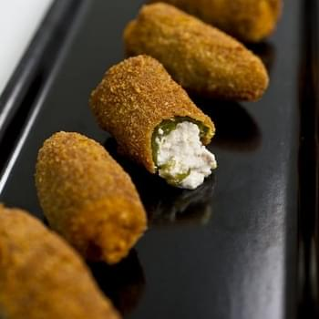 Sausage and Ricotta Jalapeño Poppers