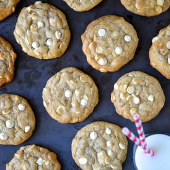White Chocolate Cheesecake Cookies