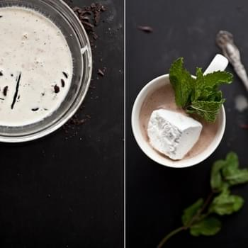Fresh Mint Hot Chocolate