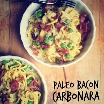 Bacon Carbanara Pasta