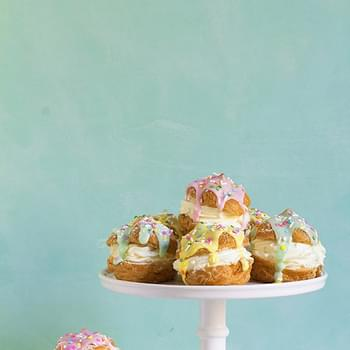 Easter Cream Puffs