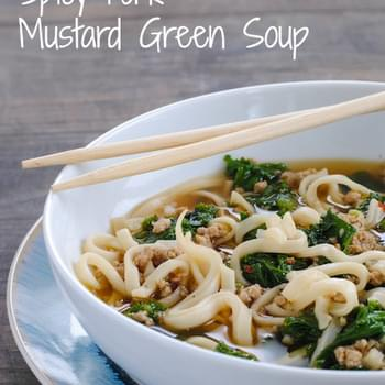 Spicy Pork & Mustard Green Soup