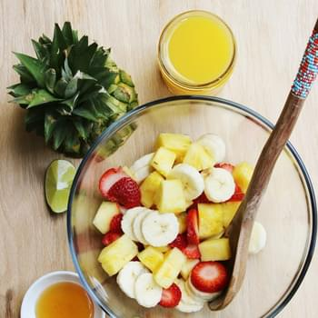Honey-Lime Fruit Salad Smoothie