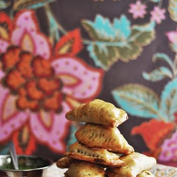 Baked Vegetable Samosa Handpies