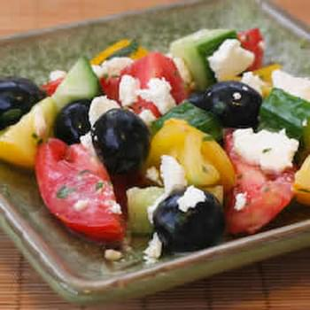 Wanna-Be Greek Salad