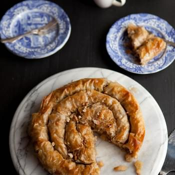 Apple Phyllo Pie With Pecans And Maple