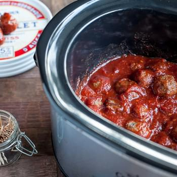 Game-day Sweet & Sour Meatballs