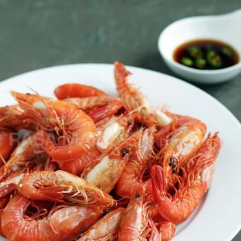 White Boiled Shrimp (白灼虾)