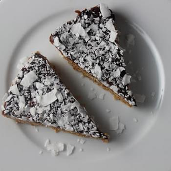 Coconut Almond Crust with Chocolate Ganache