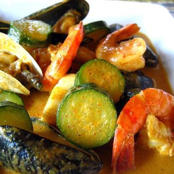 Thai Yellow Curry with Seafood