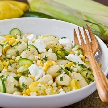 Gnocchi with Squash & Sweet Corn