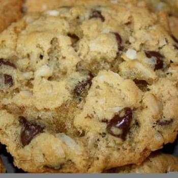 Coconut Oatmeal Chocolate Chip Cookies
