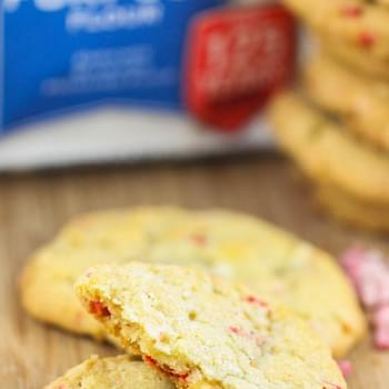 Soft Baked Peppermint White Chocolate Cookies