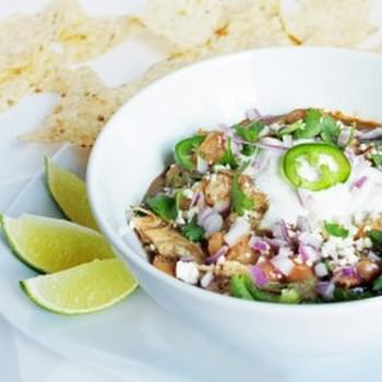 Green Chicken Chili