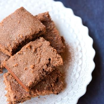 Pumpkin Ale Peanut Butter Brownies