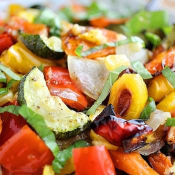 Easy Roasted Summer Vegetables