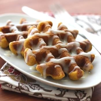 Pumpkin Spice Waffles ~ Gluten Free or Not