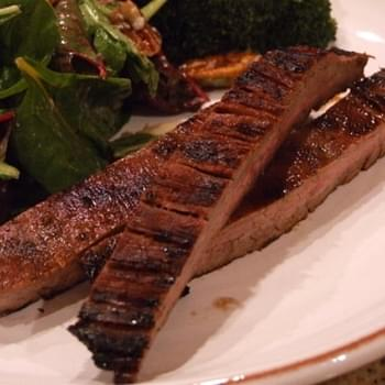 Lime- Marinated Flank Steak