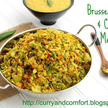 Brussels Sprout and Carrot Mellun