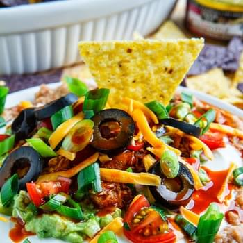 Chipotle Tuna 7 Layer Dip