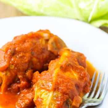Turkey Stuffed Cabbage Rolls