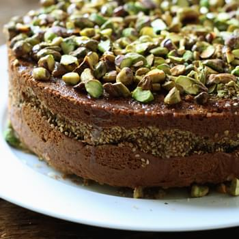 Orange Blossom Sesame Cake
