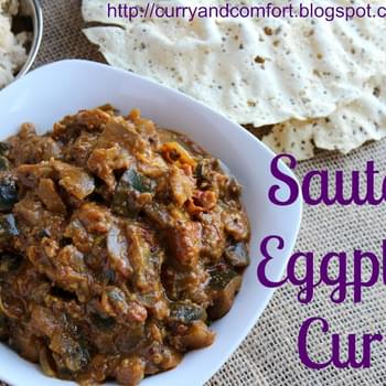 Sauteed Eggplant Curry