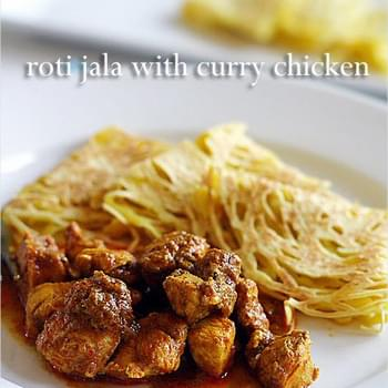 Roti Jala and Malaysian Curry Chicken