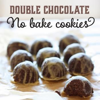 Double Paleo Chocolate No-Bake Cookies