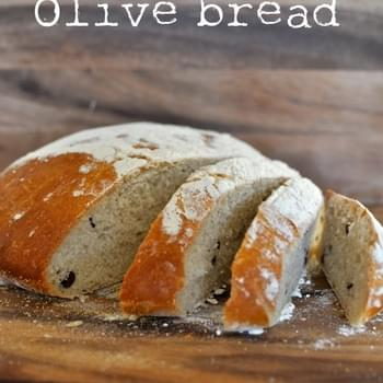 Olive bread - the best bread I've ever baked