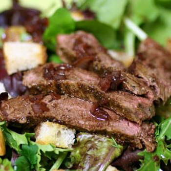 Burgundy Steak Salad