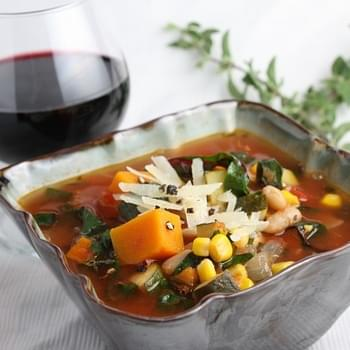 ITALIAN- STYLE VEGETABLE SOUP