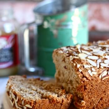 Almond Applesauce Bread