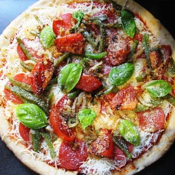 Fresh Garden Pizza