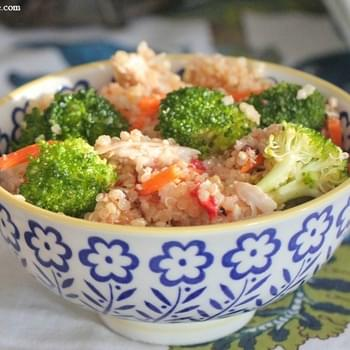 Roasted Chicken Quinoa Salad