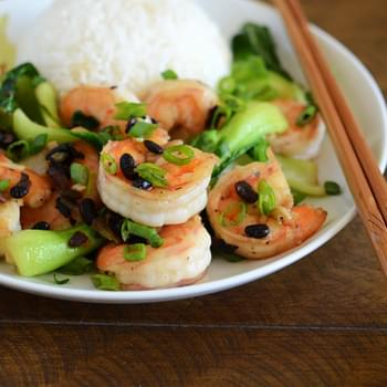 Chinese Shrimp with Black Bean Sauce