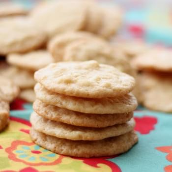 White Chocolate Macadamia Nut Lemon Cookies
