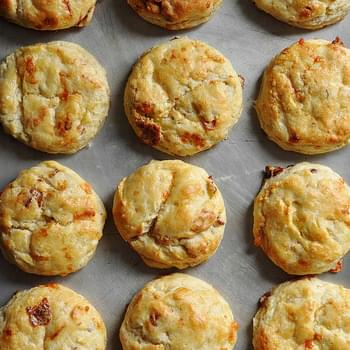 Loaded Baked Potato Scones