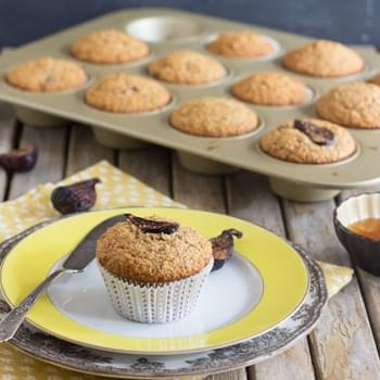 Honey and Fig Bran Muffins