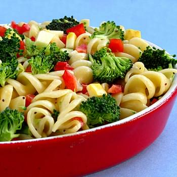 Light and Healthy Pasta Salad