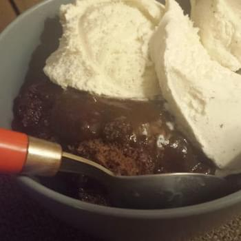 Ooey Gooey Chocolate Cobbler