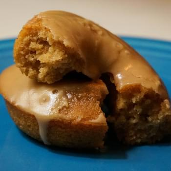 Maple-Glazed Apple Cider Baked Donuts