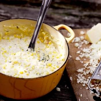 Creamed Corn with Chives and Chiles