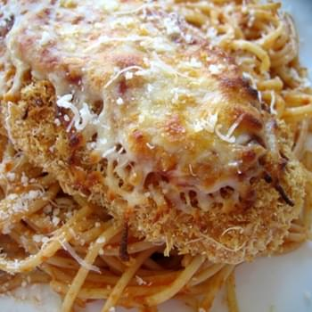 Lighter Chicken Parmesan
