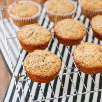 Double Lemon Poppy Seed Muffins